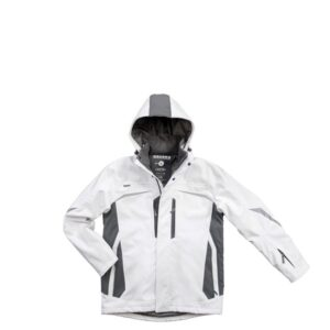 Excess Champ Softshell winterjack (313) wit